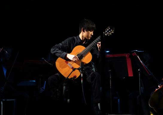 Ryan Chen in concert